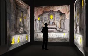 India Buddhist cave