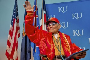 KU honors Chester Nez: 2012