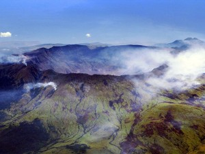 Tambora eruption 200 years ago caldera
