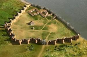 Bulgaria Durostorum-fortress-wall