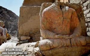 Afghanistan buddhist city Mes Aynak