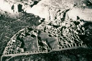 Chaco Pueblo bonito