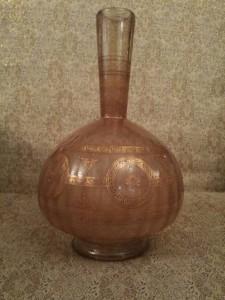 Egyptian glass vase