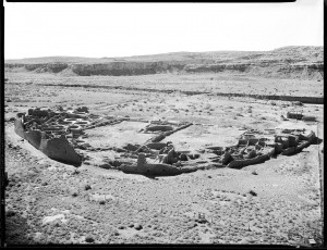 Pueblo Bonito 1930 Photo by George Grant