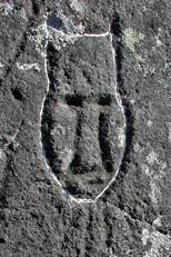 Dorset petroglyphs