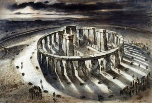 Stonehenge reconstruction