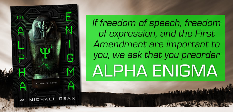 alpha enigma book and censorship